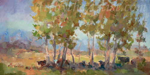 """Mary Butler """"Seeking Shade"""" Canvas Gicleé Signed & Numbered"""