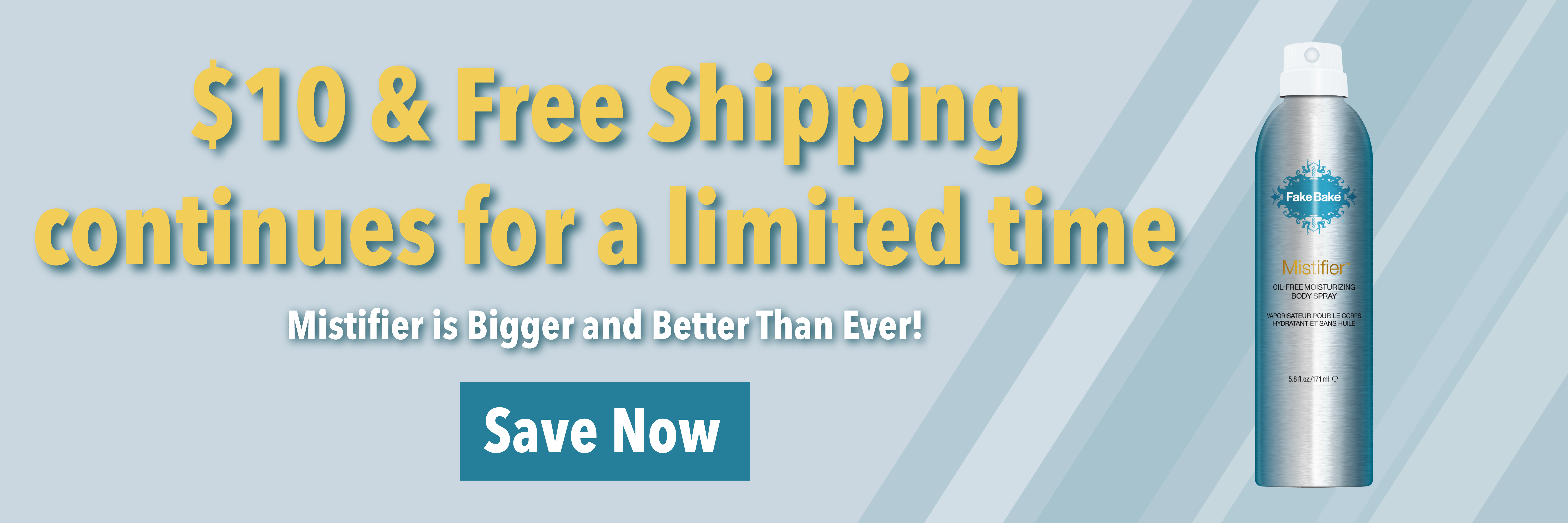 Mistifier $10 Plus Free Shipping