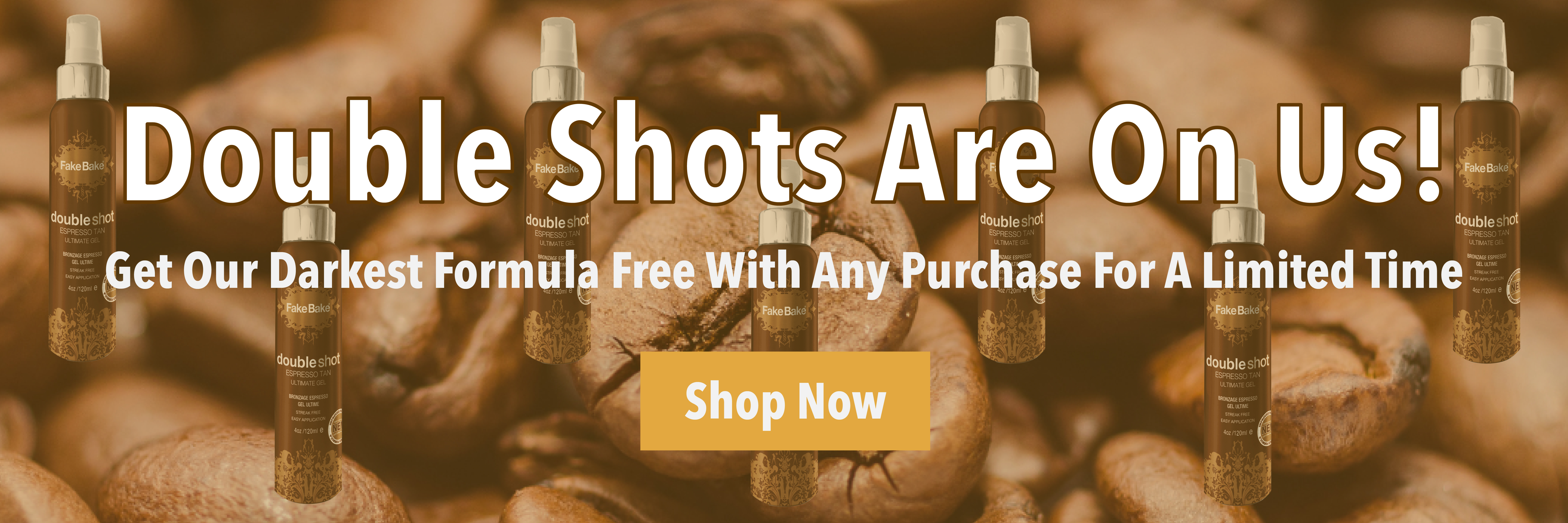 Free Double Shot With Purchase