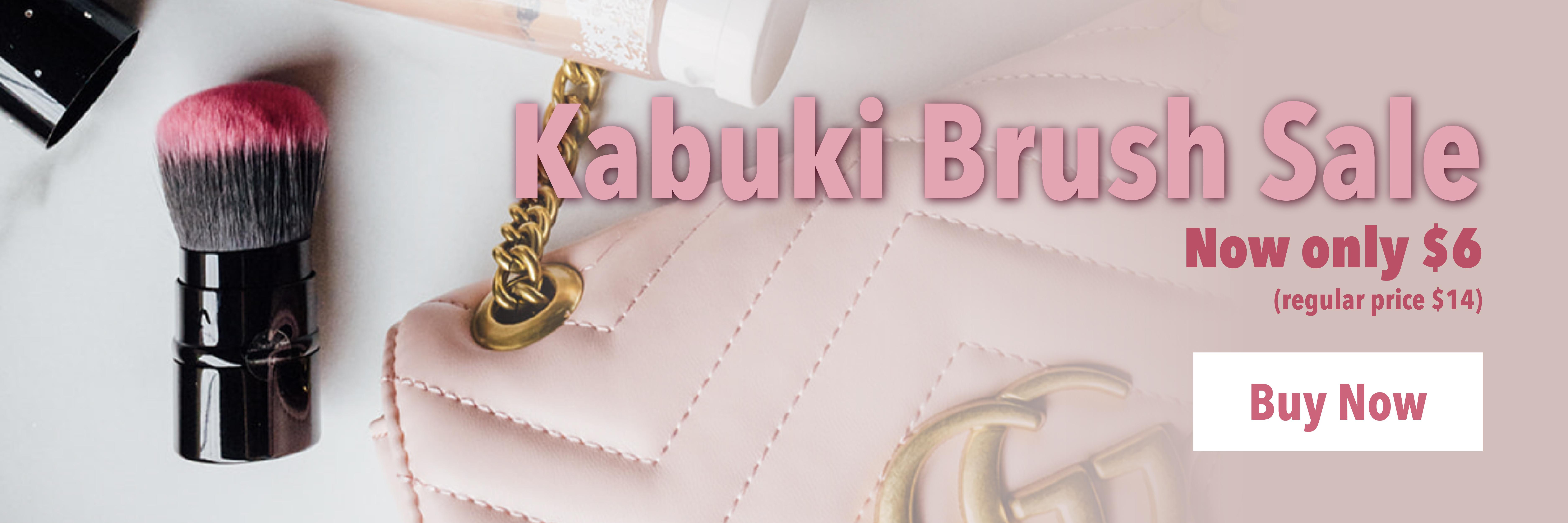 Kabuki Brush on sale for $6