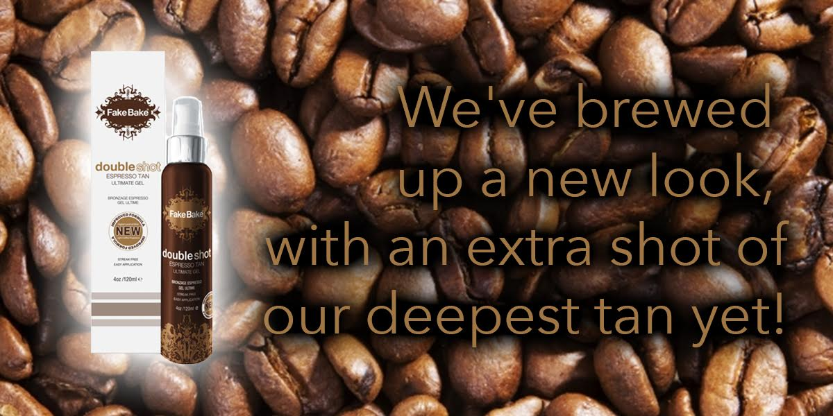 Double Shot Expresso Tan, a new look with an extra shot of our deepest tan yet!