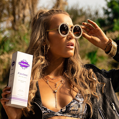 Click here to shop our self-tan range for Mobile