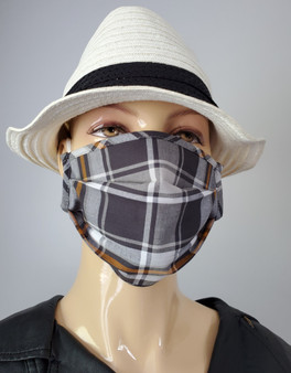 Playing with Plaids-Fashionable Mask