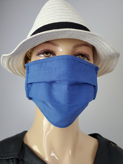 Basking in  Blue-Fashionable Reusable Mask
