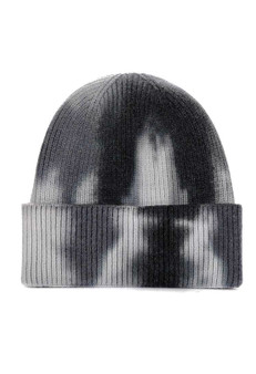 Tie to Dye for Beanie-Gray/Black