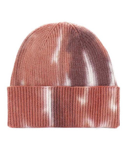 Tie to Dye for Beanie-Taupe/Cream