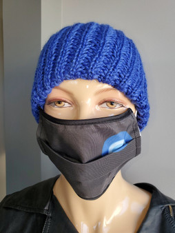 Evil Eye Mask Black -Fashionable Reusable Mask