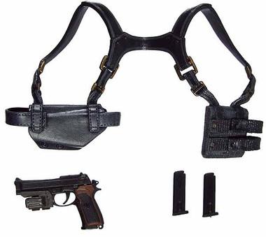 Resident Evil 5 Albert Wesker Midnight Version Pistol W