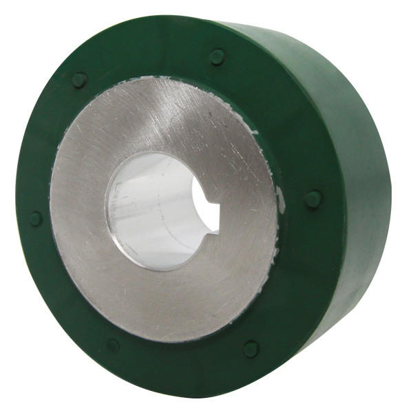 """WR T36 1"""" 25MM Silicone Weld Roller 85 Dur 2.54 OD"""