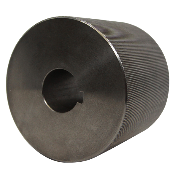 Knurled Stainless Steel Weld Roller