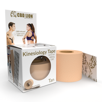 CBD Sports Tape 10' Roll (480mg CBD)