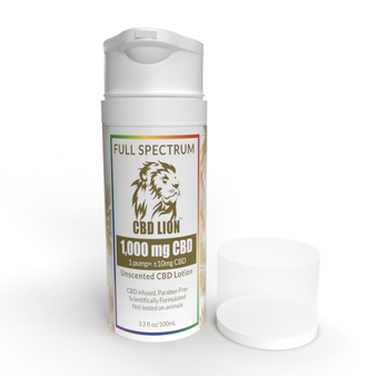 Full Spectrum 1000mg CBD Lotion