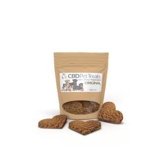 CBD Pet Treats 25mg - Cinnamon Oat Original - 5 treats - 5mg/treat