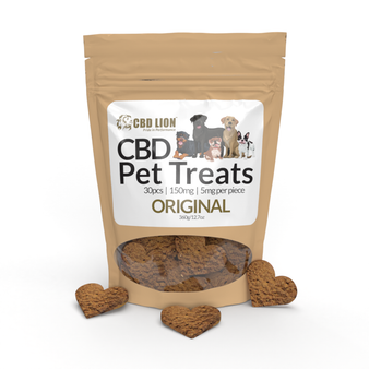 CBD Pet Treats 150mg - Cinnamon Oat  Original - 30 treats - 5mg/treat