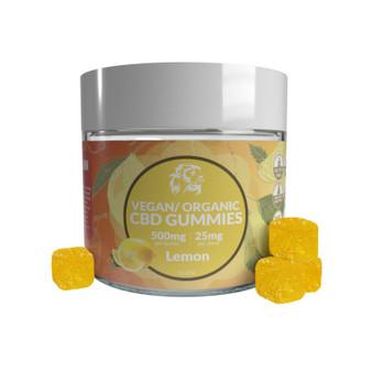 500MG CBD Gummies - Lemon