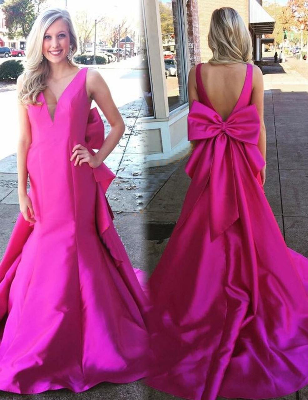Fuchsia Prom Dresses