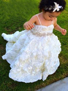c79992141 Wedding Party Dresses - Flower Girl Dresses - Organza Flower Girl ...