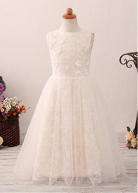 06220005ccd19 Wedding Party Dresses - Flower Girl Dresses - Lace Flower Girl ...