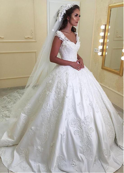 13d6b5b3bfd Beaded Ball Gown Wedding Dresses - Wedding Dress   Decore Ideas