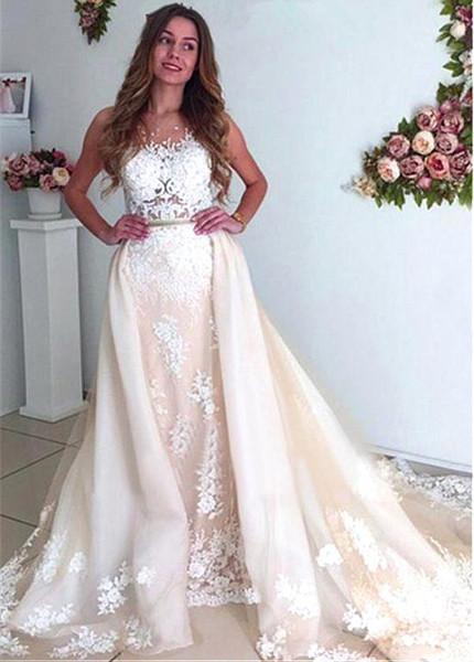 9effe69cc60b3 2 In 1 Wedding Dresses - Wedding Dress & Decore Ideas
