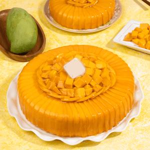 Glamorous Mango Cake