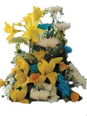 Flowers arrangement gift