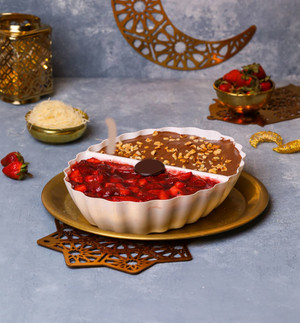 Strawberry & Nutella Konafa