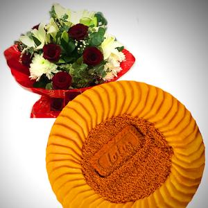 Mango Lotus Cake & Blush of Love