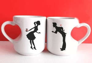 Silhouette Mugs - birthday gift delivery Egypt