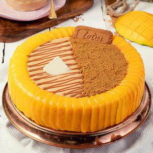 Duo Mango Lotus Cake