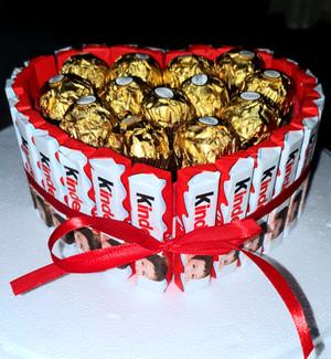 kinder Ferrero  Heartshape
