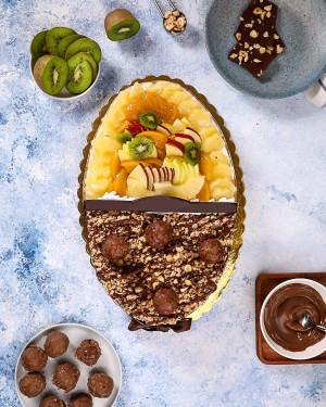 Fruits & Ferrero  Cake