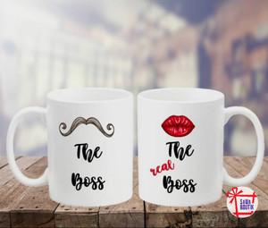 The Real Boss Mugs