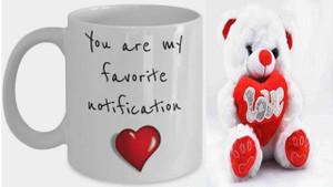 Teddy and Notification Mug