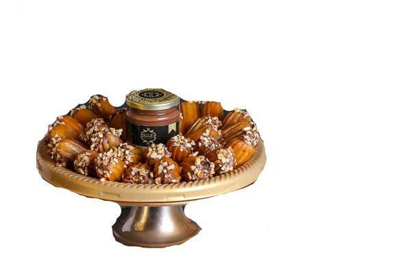 Ramadan Balah el sham with Nutella