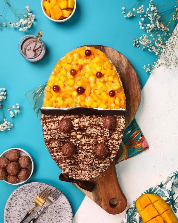 Mango & Ferrero  Cake