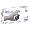 5 mil Global Glove 505PF - Powder-Free Vinyl Disposable Gloves (100 gloves per box)