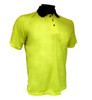 Forester Hi-Vis Knit Lime Polo