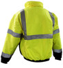 Class 3 Insulated Bombers - Hi-Vis Yellow Back