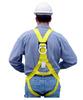 FrenchCreek RKB-1715-50 Roofer's Kit, Lightweight Full Body Harness w/ 3' Lanyard, 50' Lifeline w/ Manual Rope Grab, Reusable Anchor & Bucket