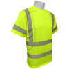 Global Glove Frog Wear GLO-205 Hi-Vis Performance Stretch Short Sleeve Class 3 Shirt