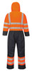 Hi-Vis Lined Coverall - Orange Back