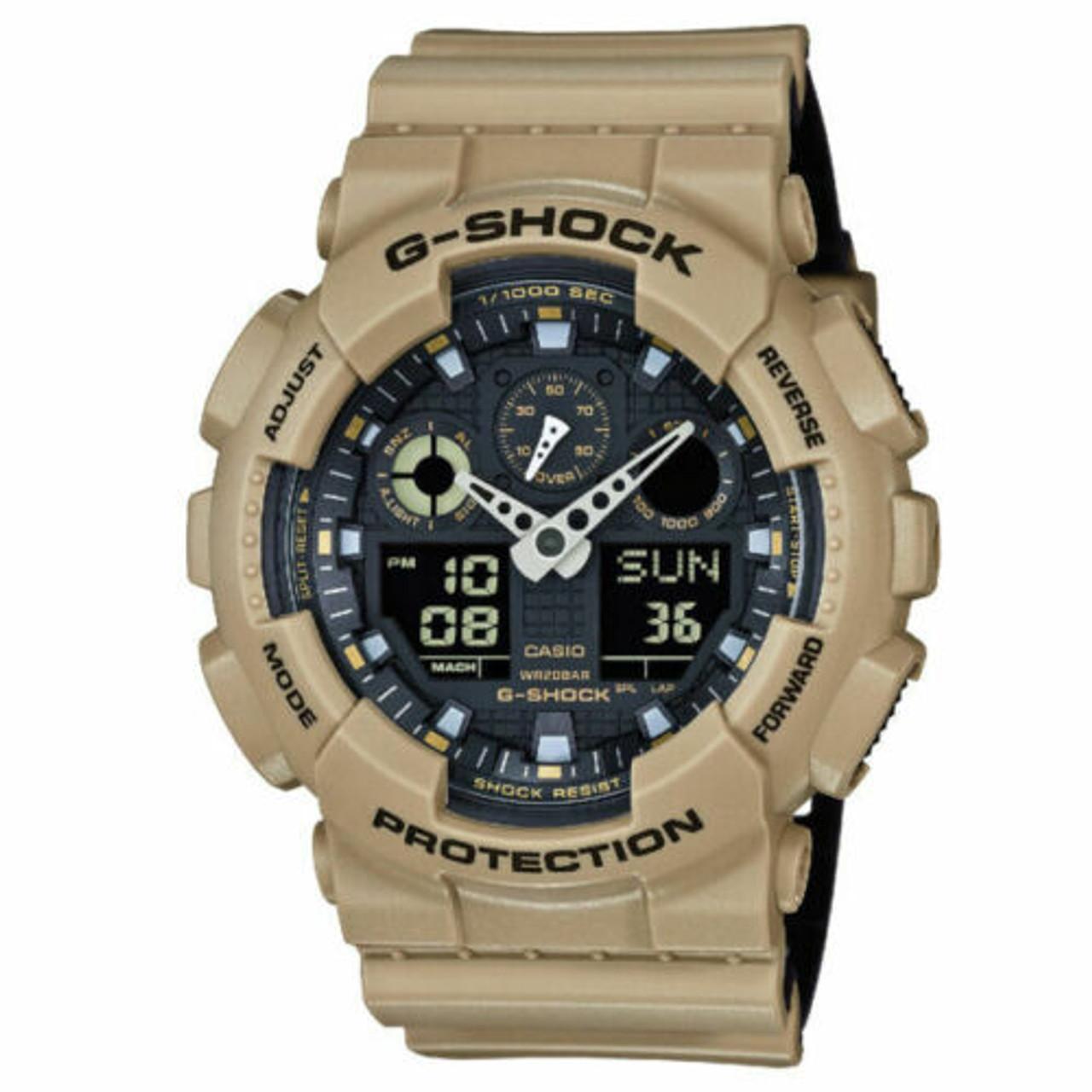 Casio G-Shock GA100L-8A Men's Wrist Watch