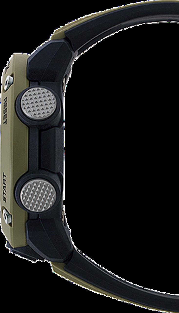 Men's Casio G-Shock GA2000-5A,  Analog-Digital Carbon Core Guard Beige Resin Band Watch
