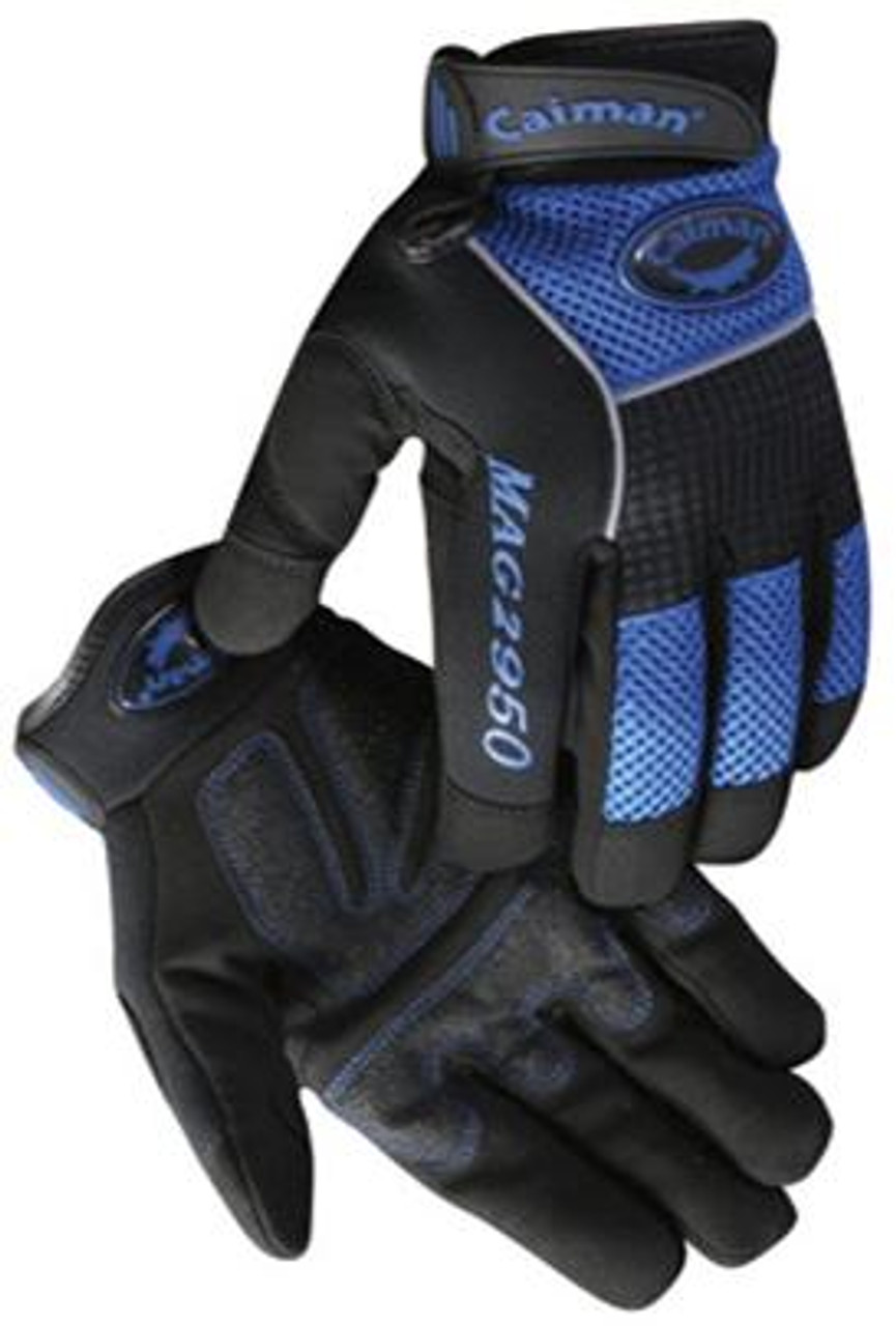 Caiman® Rhino-tex Synthetic Leather Mechanics Gloves  ## 2950 ##