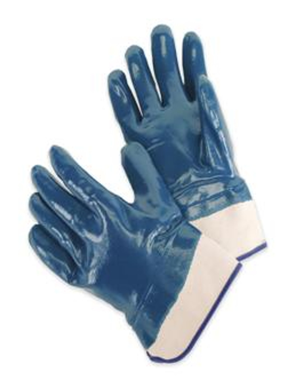 Heavy Duty Nitrile Supported Chemical Resistant Gloves  ## 9460SP ##