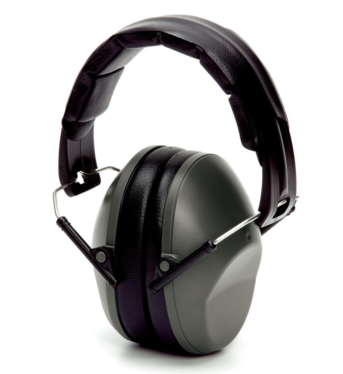 Pyramex® Low Profile Ear Muffs - Black  ## PM9010 ##