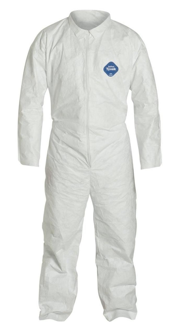 Tyvek® White Coveralls ##163 ##