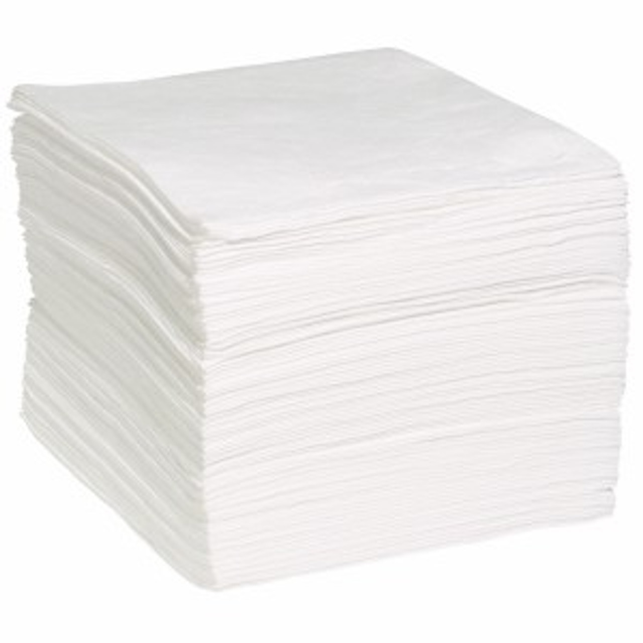 """Oil-Only Bonded (White) Sorbent Pads - 15"""" X 19"""""""