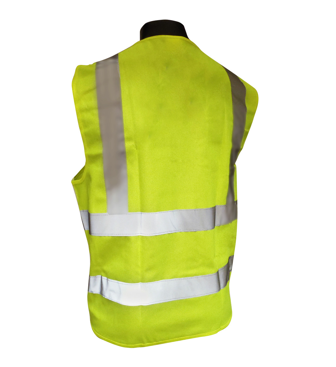 Breakaway Class 2 Safety Vests - Mesh - Hi-Vis Yellow Back